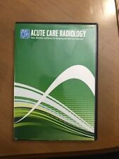 Challenger CD- ROM for Acute Care Radiology, Free Fast Shipping!