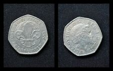 Coin Hunt Collectible 50p 2007 Centenary of the Foundation of the Scouting Movem