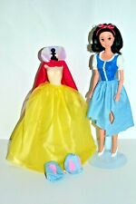 Disney Snow White Doll, Vintage 1990's Transforming Dress, Complete & Perfect