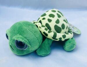 Nici Sweet Hearts Green Plush Turtle Stuffed Small NWT New