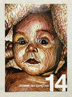 COMME des GARCONS 2008 A/W 14 Booklet Pamphlet Flyer Art Paper Rare Japan F/S