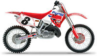 PEPSI HONDA CR 125 1995 - 1997 / CR 250 1995 - 1996 YVES DEMARIA KIT GRAFICA