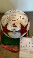 Final matchball imprint Champions League Roma 2009 match Adidas ball barcelona