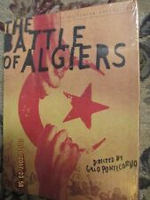 Battle of Algiers (DVD, 2004, 3-Disc Set) Criterion Collection, Many Extras