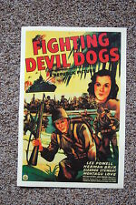 The Fighting Devil Dogs Lobby Card Movie Poster Lee Powell Herman Brix
