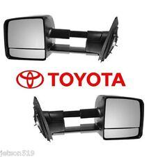 2007-2016 TOYOTA TUNDRA TOW MIRROR SET Towing Mirrors  OEM  OE