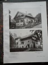 1908 Landhaus Backhausen Dörentrup Lippe