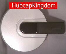 2006-2010 NEW HUMMER H3 AM Wheel SILVER w/ BLACK BAR Center Hub Cap Hubcap