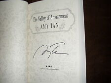 Amy Tan signed The Valley Of Amazement Advanced Reader Copy 1st print SC book