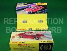 Dinky #176 N. S. U. Ro 80 - Reproduction Box by DRRB