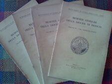 MEMORIE STORICHE DELLA DIOCESI DI BRESCIA - annata completa 1948  sotto i titoli