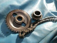 MG MGB ENGINE CAMSHAFT CRANKSHAFT GEAR SINGLE ROW TIMING GEARS