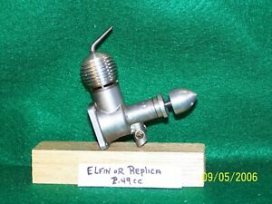 Elfin, Dunham Replica V2 or V3 2.49cc (.15cuin) model diesel engine