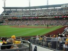 1 San Diego Padres @ Pittsburgh Pirates PNC Ticket 5/20/18 Sec 131 Row E 2018