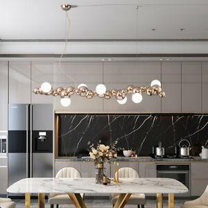 Gold Chandelier Lighting Bar Lamp Shop Large Pendant Light Kitchen Ceiling Light