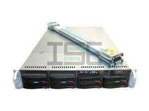 Supermicro X9DRi-F 2U 8 Bay Server 2x E5-2690v2 3GHz 20-Cores 4x 4TB 256GB