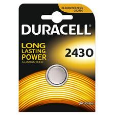 """Nuevo single Duracell cardada celda de moneda de litio 3 V batería de larga duración """"DL2430"""""""