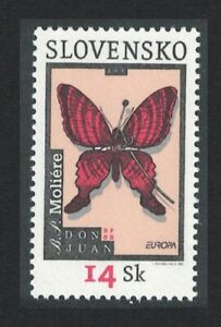 Slovakia Butterfly Moliere Europa CEPT Poster art 2003 MNH SG#411
