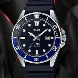 Casio MDV106B-1A1V Men's Duro 200M WR Black Watch Diver Analog Sports New 2021