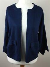 TU  Size 10 Ladies Dark Blue Cardi 3/4 Length Sleeve Slip On  BNWOT