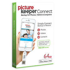Picture Keeper Connect | 64GB Mobile Backup & Storage for iPhone & Android