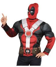 Marvel Men's Deadpool Muscle Chest Costume And Mask Medium Halloween Costume