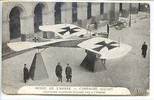 CP Militaria - Musée de l'armée - Campagne 1914-1915 - Aéroplane allemand