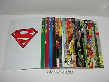 Superman Reign Of Supermen 22 Comic Lot DC 1993 COMPLETE Action Adventures Steel