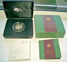 """2020 """"A VOTE TO LEAVE AND A NEW ERA"""" SILVER PROOF BREXIT 50p COIN IN BOX AND CoA"""