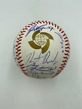 2013 WBC Team USA Signed Baseball Giancarlo Stanton Greg Maddux 29 Sigs JSA COA