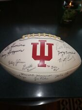 2005 -2006 INDIANA HOOSIERS COACHING STAFF SIGNED AUTOGRAPHED FOOTBALL