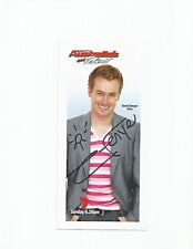 Australia's Got Talent signed fan card in person by Grant Denyer