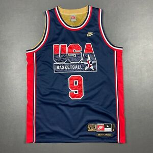 100% Authentic Michael Jordan Nike 1992 USA Dream Team Jersey Size L 44 Mens