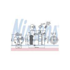 Genuine Nissens A/C Air Con Compressor - 89022