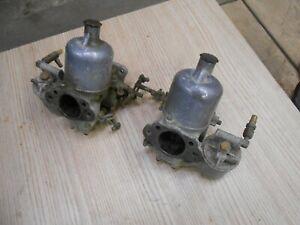 DAIMLER V8 250 TWIN CARBURETTORS