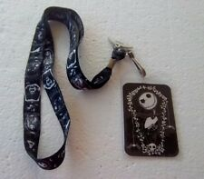 *~* DISNEY NIGHTMARE BEFORE CHRISTMAS LANYARD WITH ID CARD HOLDER *~*