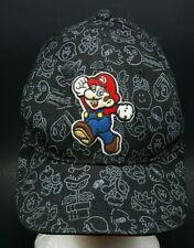 Nintendo Super Mario Embroidered Baseball Hat Cap