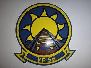 États-unis Marine Flotte Logistique Support Escadron VR-58 Sunseeker Autocollant