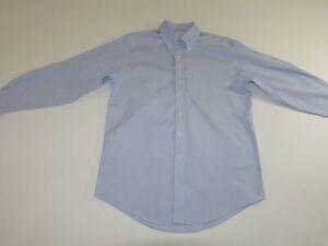 Brooks Brothers Men's Regular Fit Non Iron Dress Shirt 15.5 - 32 / 33 Light Blue