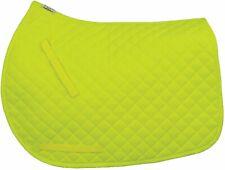 TuffRider Neon Yellow All Purpose Saddle Pad - Full Size