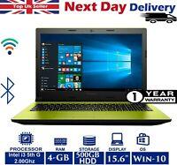 """Lenovo IdeaPad 305-15 15.6"""" Laptop Intel i3 5th Gen 2.00Ghz 4GB RAM 500GB HDD"""