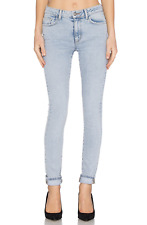 SIWY DENIM Steffy High Waist Slim Skinny Jeans Light Blue 26 $218 #14