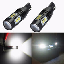 NEW 2Pcs Set 50W CREE 921 912 T10 LED 6000K HID White Backup Reverse Lights Bulb