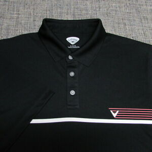 CALLAWAY POLY GOLF SHIRT--XL--SUPER PATTERN--WRINKLE FREE-EXCEPTIONAL QUALITY!!!