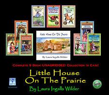 LITTLE HOUSE ON THE PRAIRIE - Laura Ingalls Wilder -UNABRIDGED 9 Disc MP3 CD Set