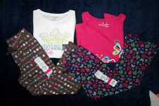 Jumping Beans Girls Size 5 Mixed clothing lot of 4 New Tops and bottoms NWT