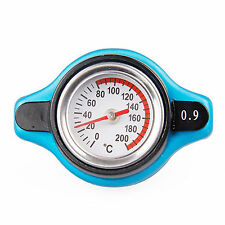 Car Moto 0.9 Bar Thermo Thermostatic Radiator Cap Cover Water Temperature Gauge