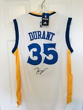Kevin Durant Signed Golden State Warriors Jersey Autographed PSA Sticker Only