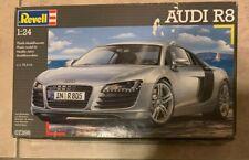 Revell 1:24 Audi R8 Car Model Kit NEW Factory Sealed in box 07398 USA Seller