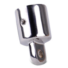 7/8'' Eye End Cap Bimini Top Fitting Hardware Marine Edelstahl Endkappe Boot